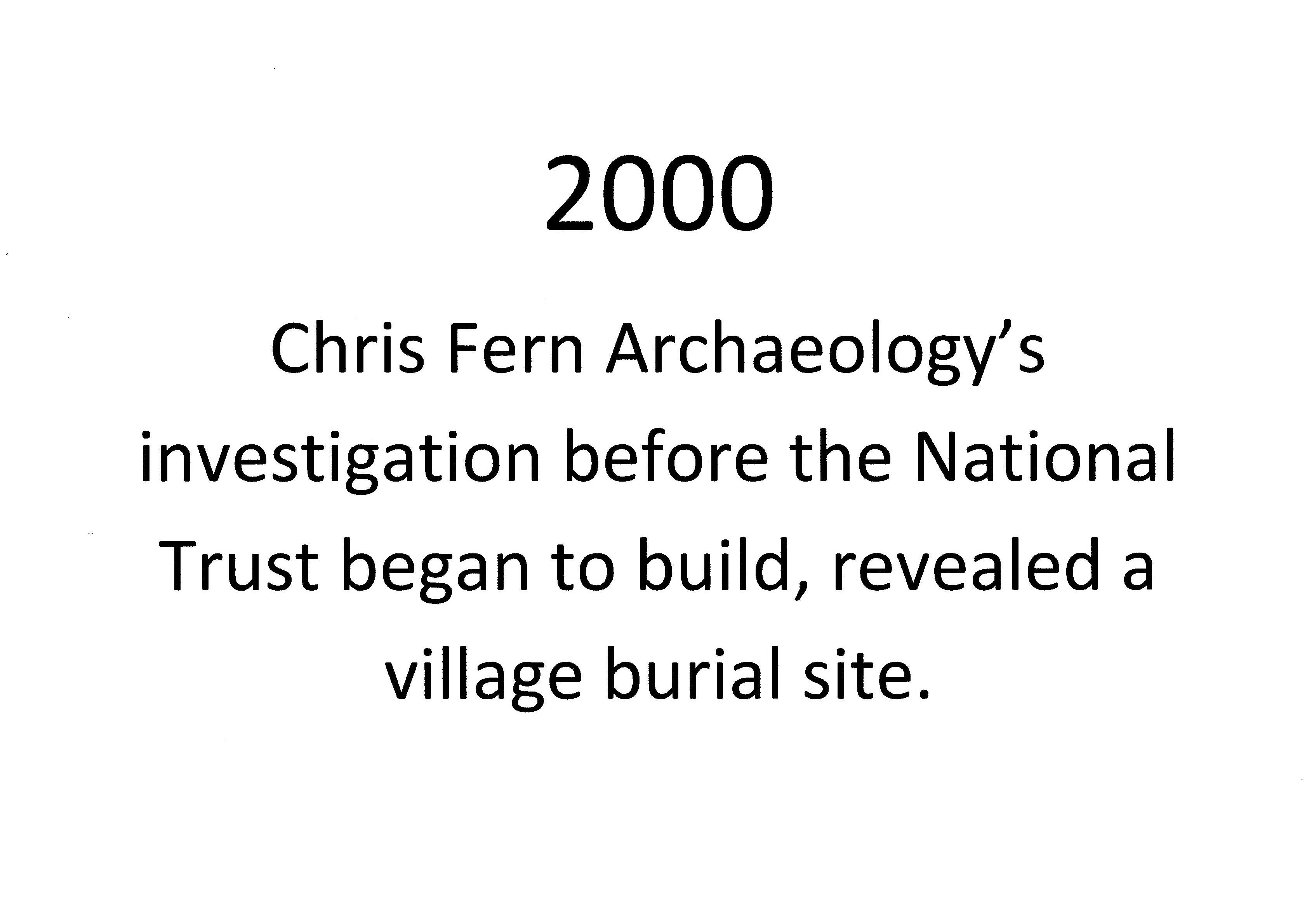 4-00 2000 Fern Archaeology