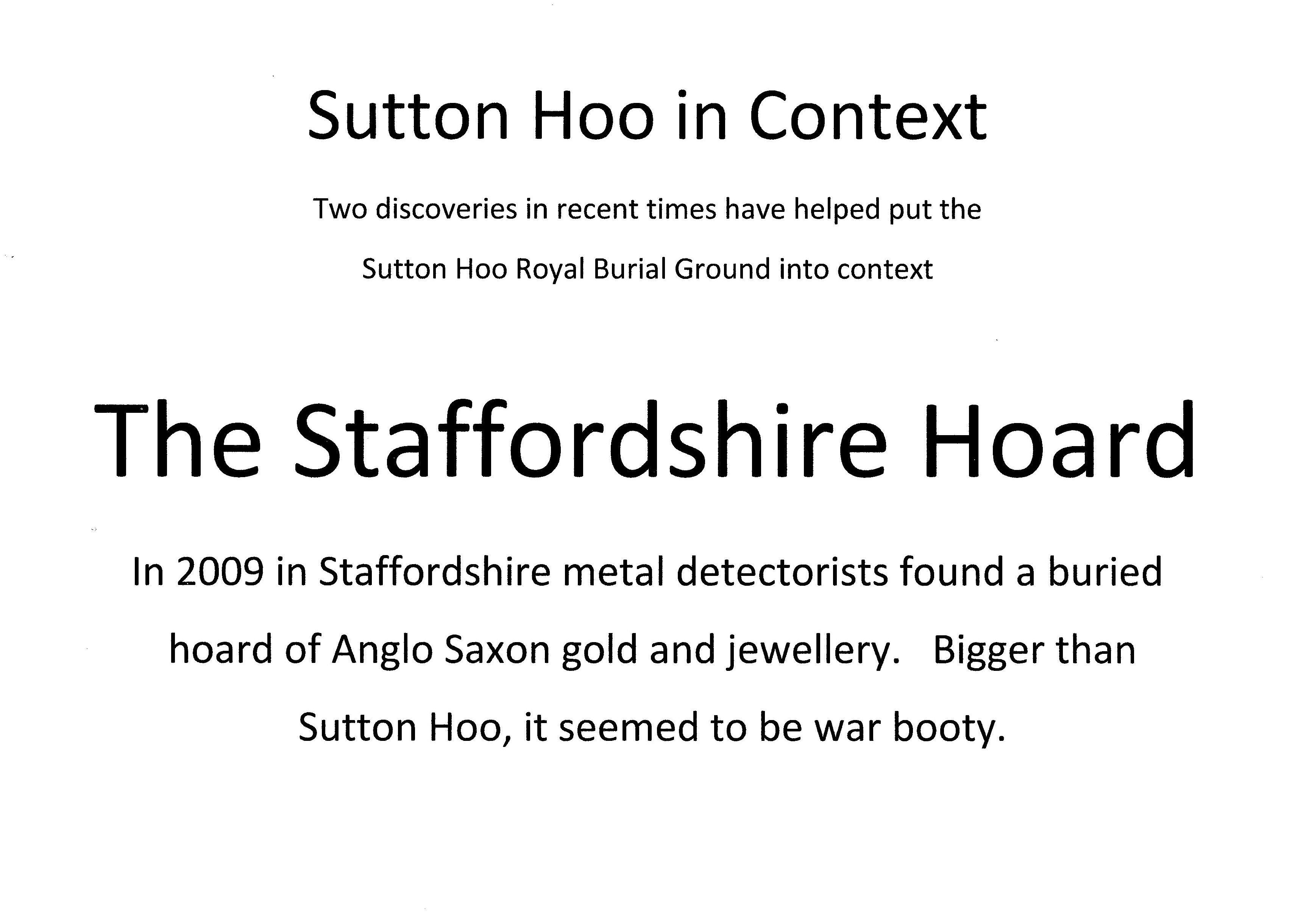 5-50 Staffordshire Hoard 2009