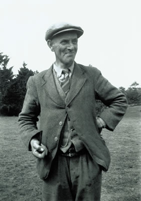 Basil Brown, the archaeologist who found the King's ship