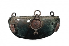 one of three Hanging Bowls from the grave. Only 170 are known today.