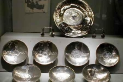 There were a set of ten Silver Bowls, all similar, all expensive