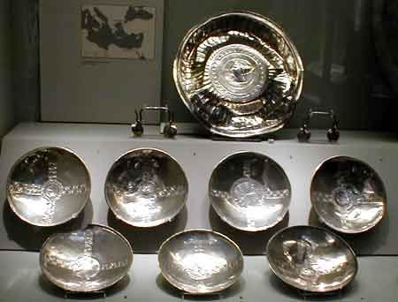 There were a set of ten Silver Bowls, all similar, all expensive.